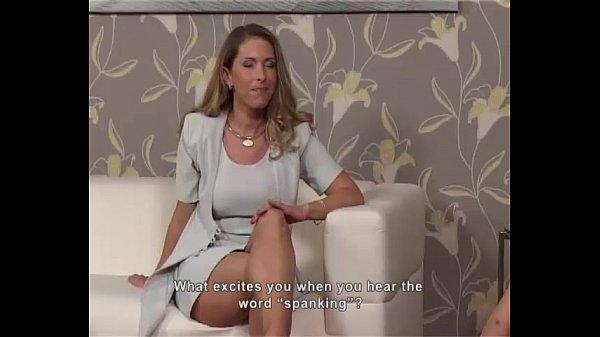 Mood Spanking - Casting Myleina