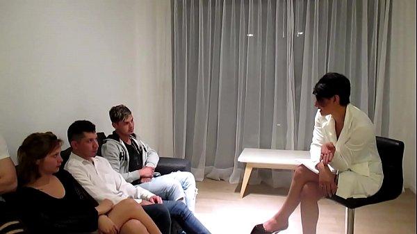 סרטי סקס BRUTAL  SEXO  ANAL  Y ORGIA  EN  LA TERAPIA