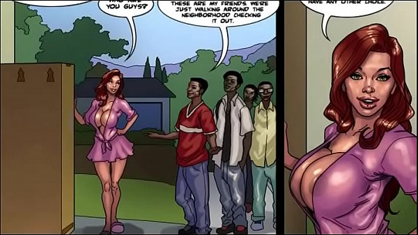 slutty Black mommy [Full Comic]