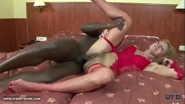 Interracial Porn - Granny likes it rough gets a...