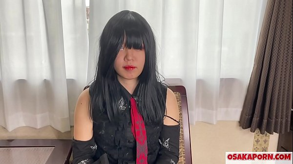 Amateur Japanese with cosplay costume enjoys getting toyed and squirts. Lovely Asian with cute tits has multiple orgasms. Alice 5 OSAKAPORN