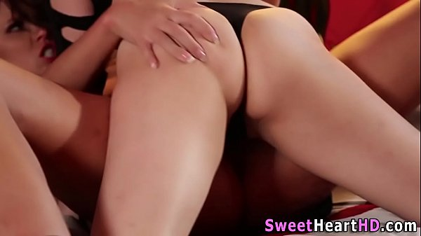 Lesbians grinding pussies