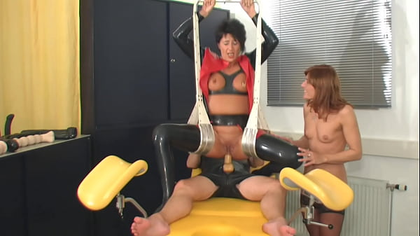 Rubber slave anal