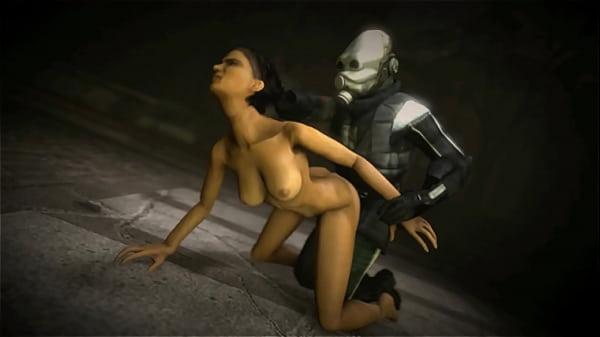 Porno with the Alyx Vance.