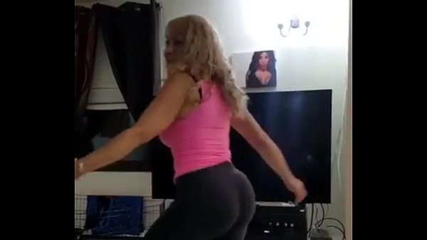 My Mom shaking her fat ass