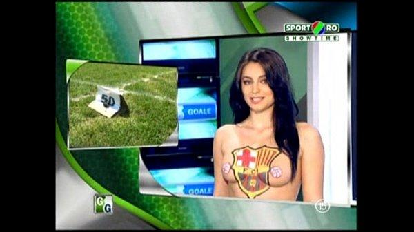 Goluri si Goale ep 5 Gina si Roxy (Romania naked news)