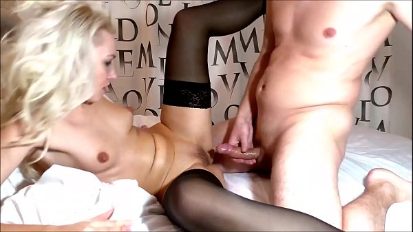 Rough russian anal & Cum on big ass