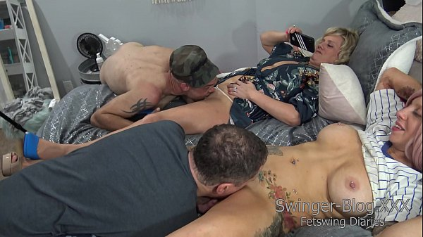 Hot Group Sex with real Swingers Full Swap | Fe...