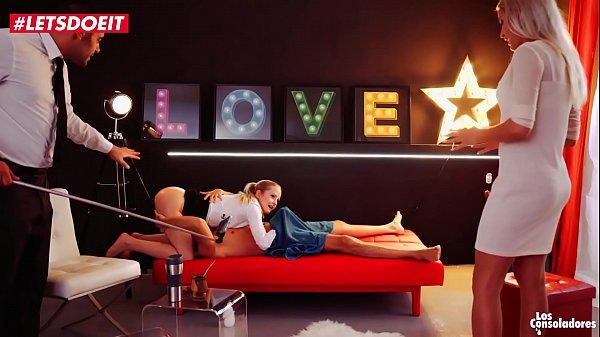 Vip Sex Vault - Horny Blonde Meets The Best Swinger Couple in Spain (Cherry Kiss)