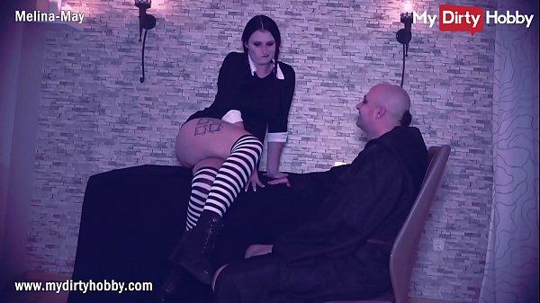 MyDirtyHobby - Adams Family Halloween porn cosplay