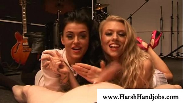 Shameless girls having lots of fun with cock