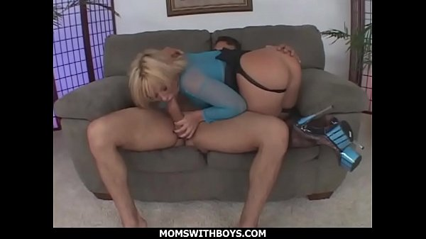MomsWithBoys - Ass To Mouth Anal Blonde MILF Fuck Slut Georgia Peach