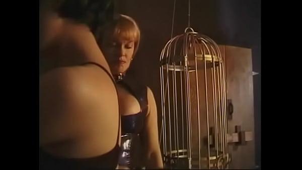 Femdom dominatrix teaches her art to supple Asian MILF in BDSM chamber