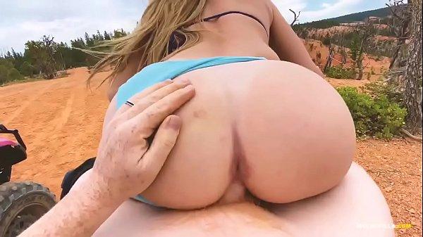 EPIC Fucking Off-road Adventure Porn - Molly Pills - Amateur Blonde Public Sex POV