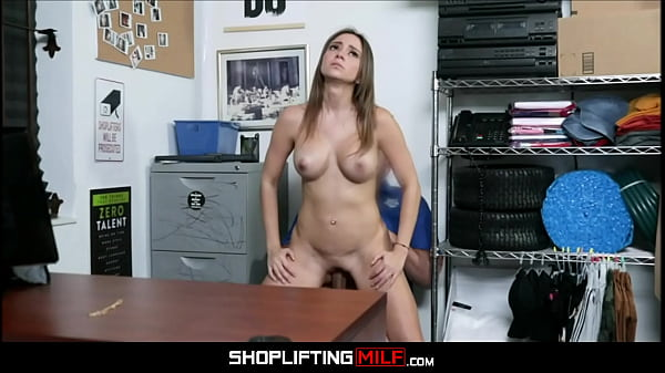 Big Ass Big Tits Latina MILF Shoplifter Havana Bleu Rough Fuck From Horny Security Officer