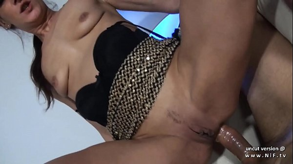 Amateur small titted french slut hard banged and facialized