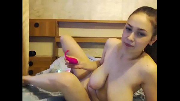 Teen Big Tits Masturbates