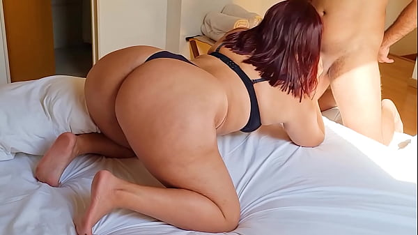 Redhead Curvy With Huge Ass Getting Cum In Her Ass
