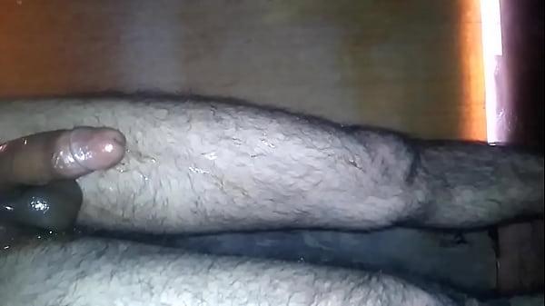 stroking my juicy bog cock with cumshot