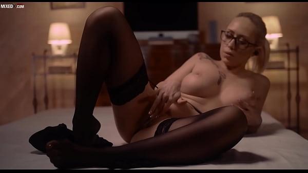 Sexy Hot Milf Christina Shine Masturbating With AI