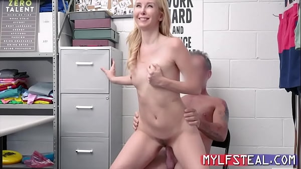 Hot MILF Mom Caught Smuggling Wine And Punish F...