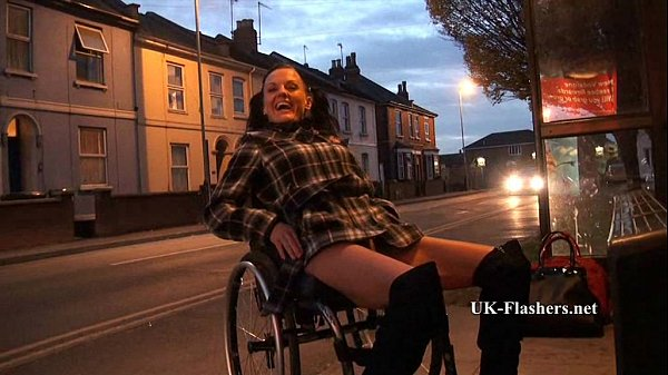 Leah Caprice Flashing Nude in Cheltenham from h...