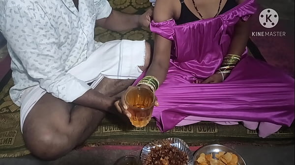 Telugu wife Sex with after drinking beer Thumb