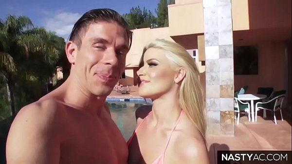 Adriana Chechik joins to Anikka Albrite and Mick Blue  thumbnail