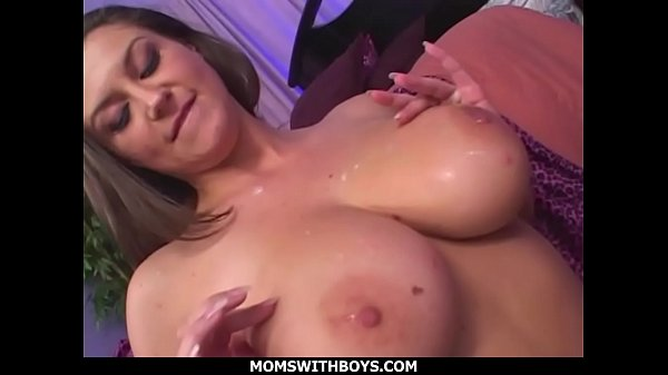 MomsWithBoys - Tit Fucked And Gag Slut MILF Sara Stone Gets Indurate Sex