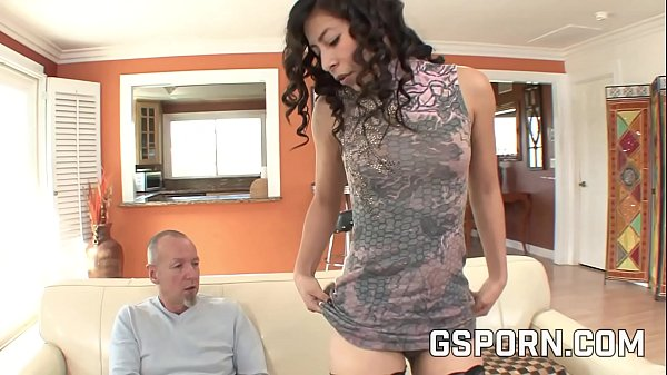Teen fucking her daddy