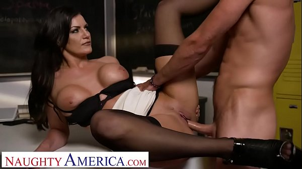 Naughty America Michelle Miller (Becky Bandini) teaches her student a lesson Thumb