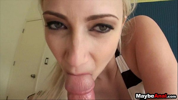 Blonde bimbo finds a dick up her ass Raine Mae 1 2