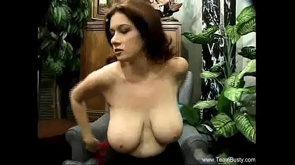 Just Amazing Natural Boobs Brunette