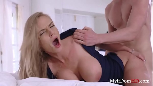 Busty Blonde Repays For Her Husband's Dirty Dee...