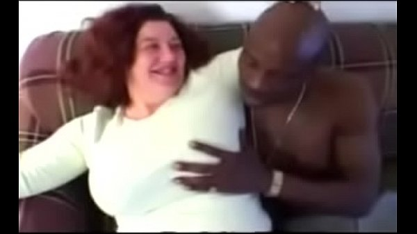 BBW Grandma Anal with BBC Condom to Bare – Interracial Video