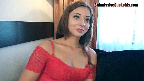 Hotwife humiliates her hubby