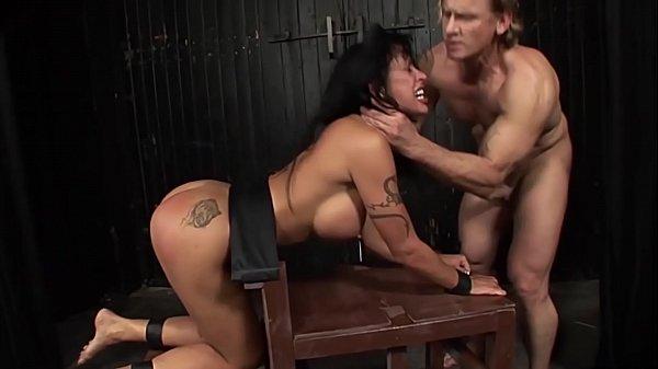Tied and humiliated slut Cony Ferrara. Part 3. Dominated anal slut.
