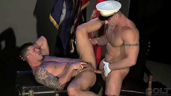 Gay First Ass Fuck Repellent Nicholas Fucks Straight Marine Scottie In The First Hardcore Anal Scene
