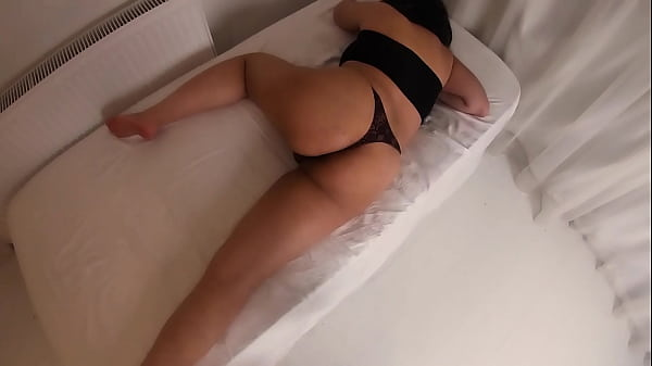My Beautiful Big Ass Stepmom is Lying in bed