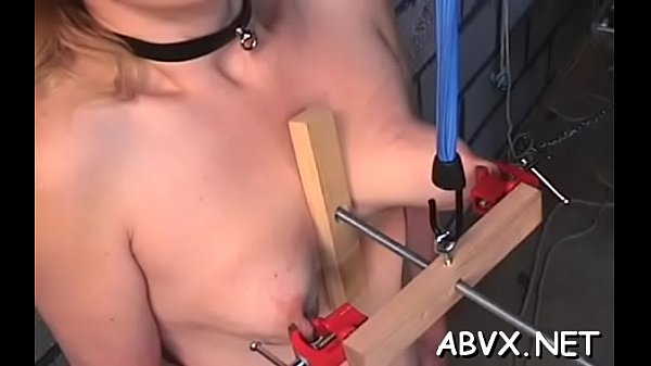 Amateur babe cunt shagged in amateur bondage scenes Thumb