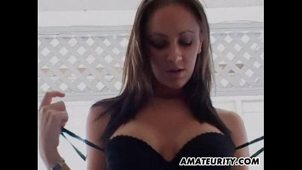 Busty amateur girlfriend threesome with facial shots Thumb