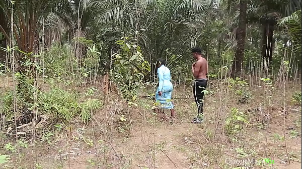 She got lost in the bush, I showed her way back to her house, she rewarded me with a fuck