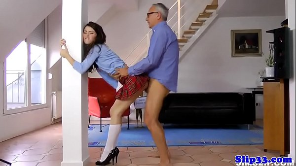 Standing Doggystyle Teen Stockings Compilation