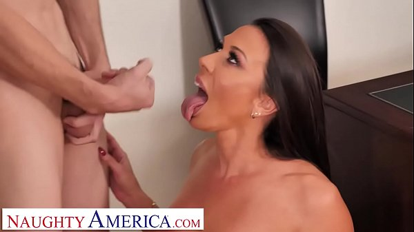 Naughty America Rachel Starr shows student how ...