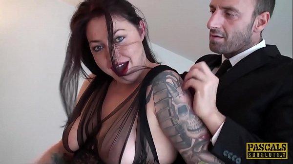 PASCALSSUBSLUTS - Curvy Nikki Gold fed jizz after domination Thumb