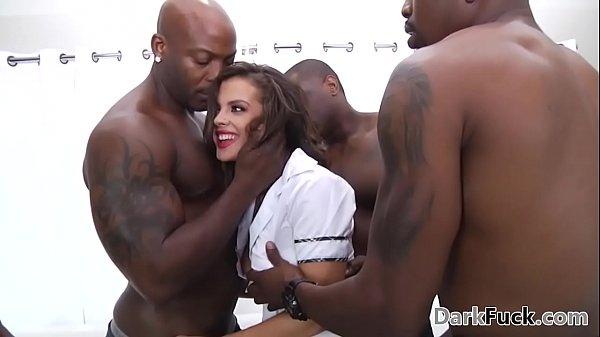 b. monster cock anal gangbang - Keisha Grey