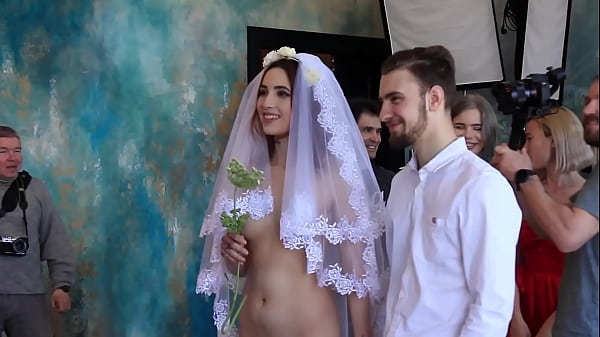 Nude bride clothed groom Thumb