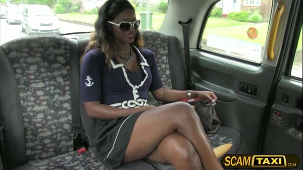 Sexy and horny ebony Jasmine gets pounded hard by the drivers Scottish cock Thumb