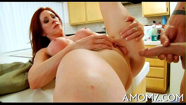 Sexy mom gets joy of cock Thumb