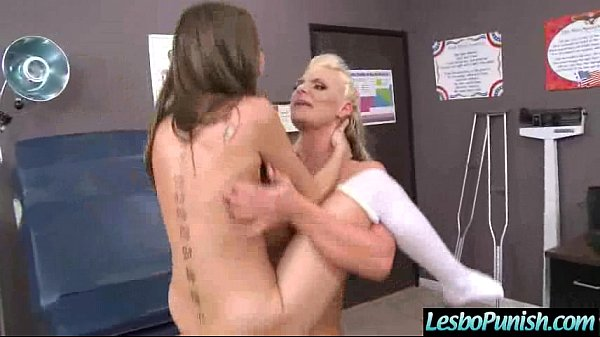 Hot And Mean Lesbos In Punishment Sex Tape mov-29